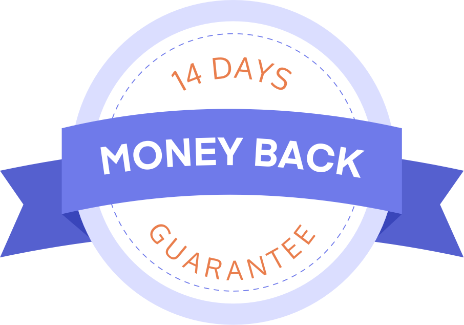 14 days money back gurantee