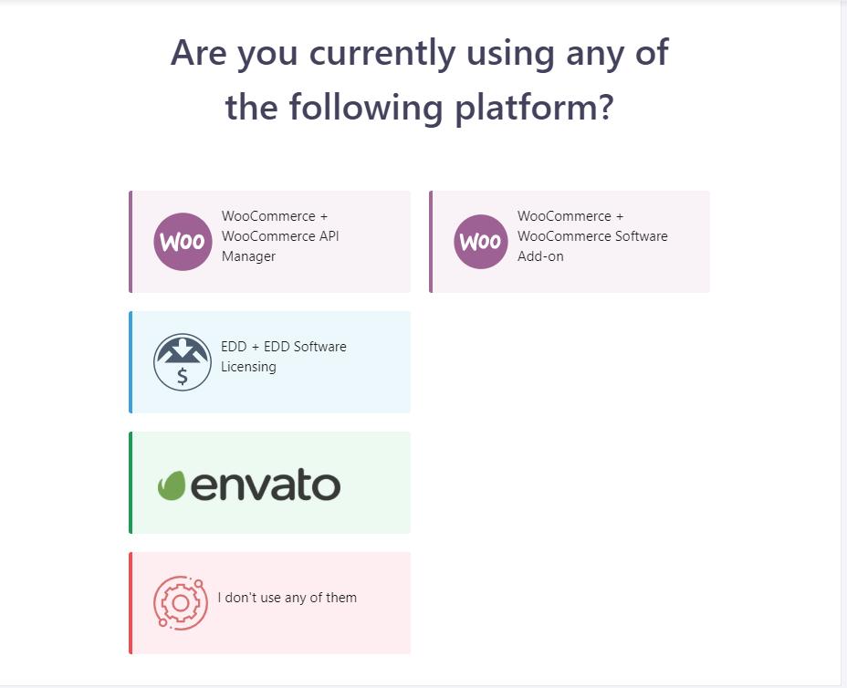 Platform select