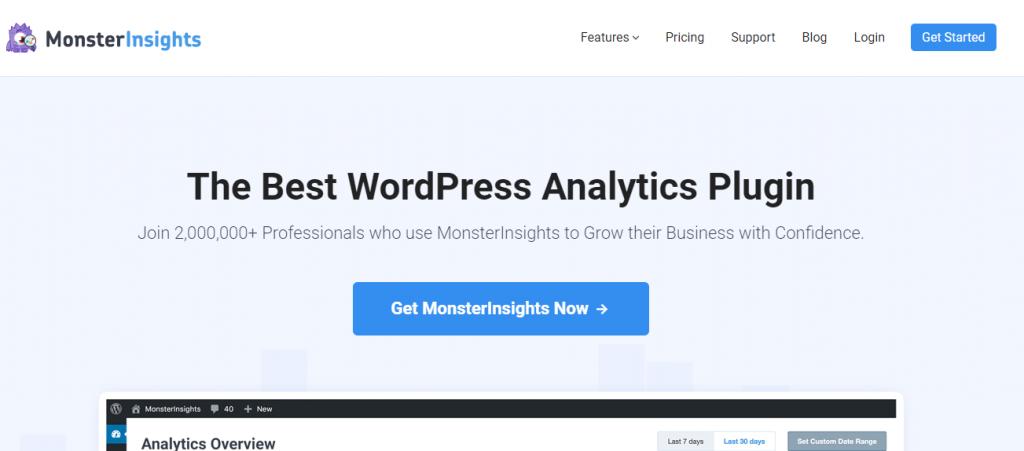 WordPress analytics plugin