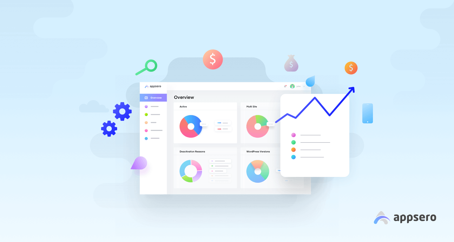 Appsero analytics