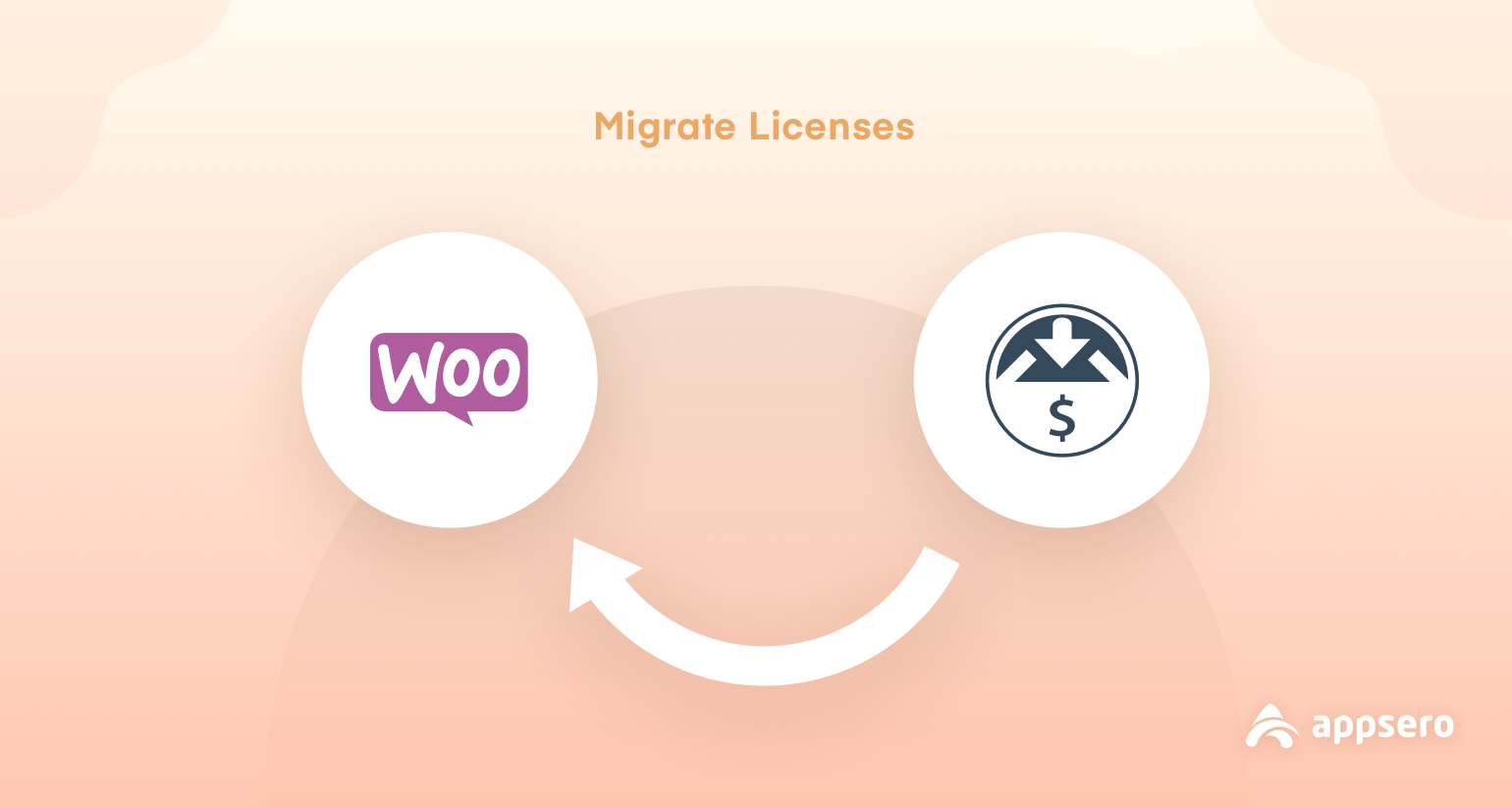 License Migration From Easy Digital Downloads To WooCommerce with Appsero