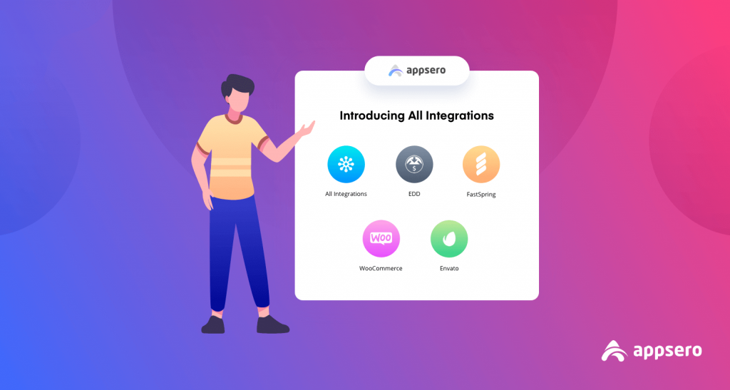 Introducing all appsero integrations