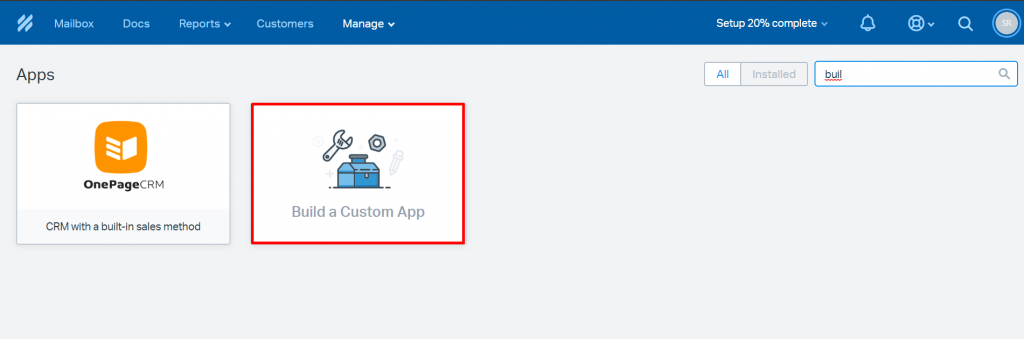 build custom apps HelpScout Integration