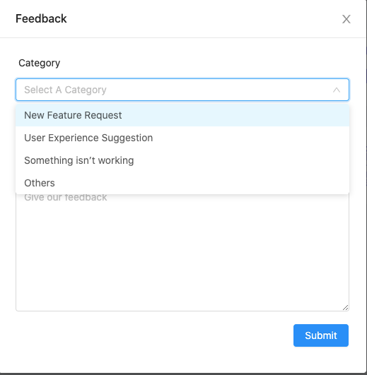 How to Submit Feedbacks to Appsero
