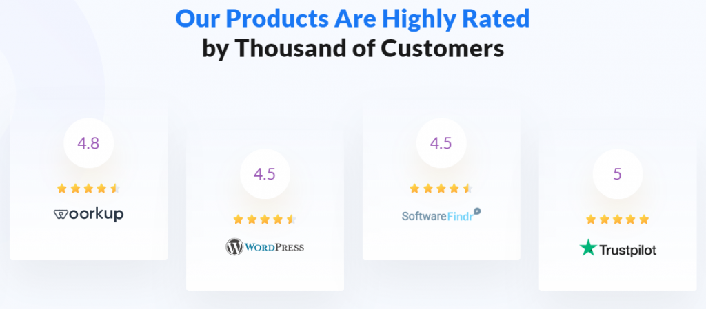 Customer reviews and ratings