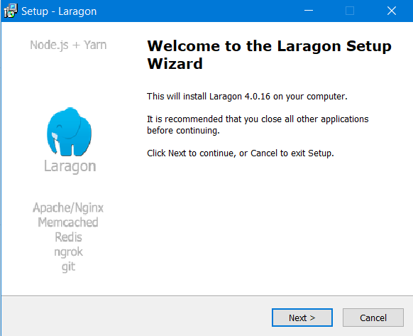 How to install Laragon