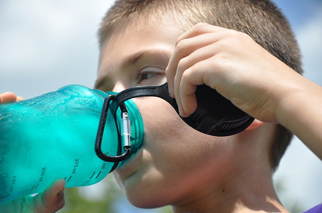 stay hydrated - developer stress