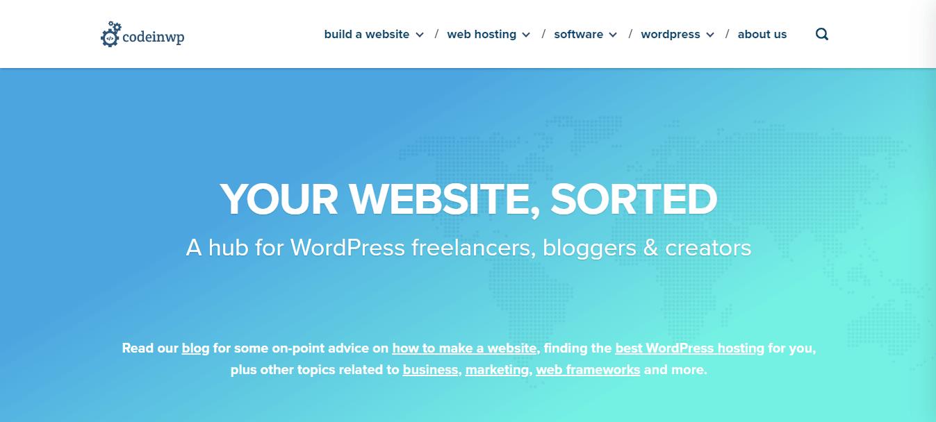 CodeinWP a hub for WordPress developer