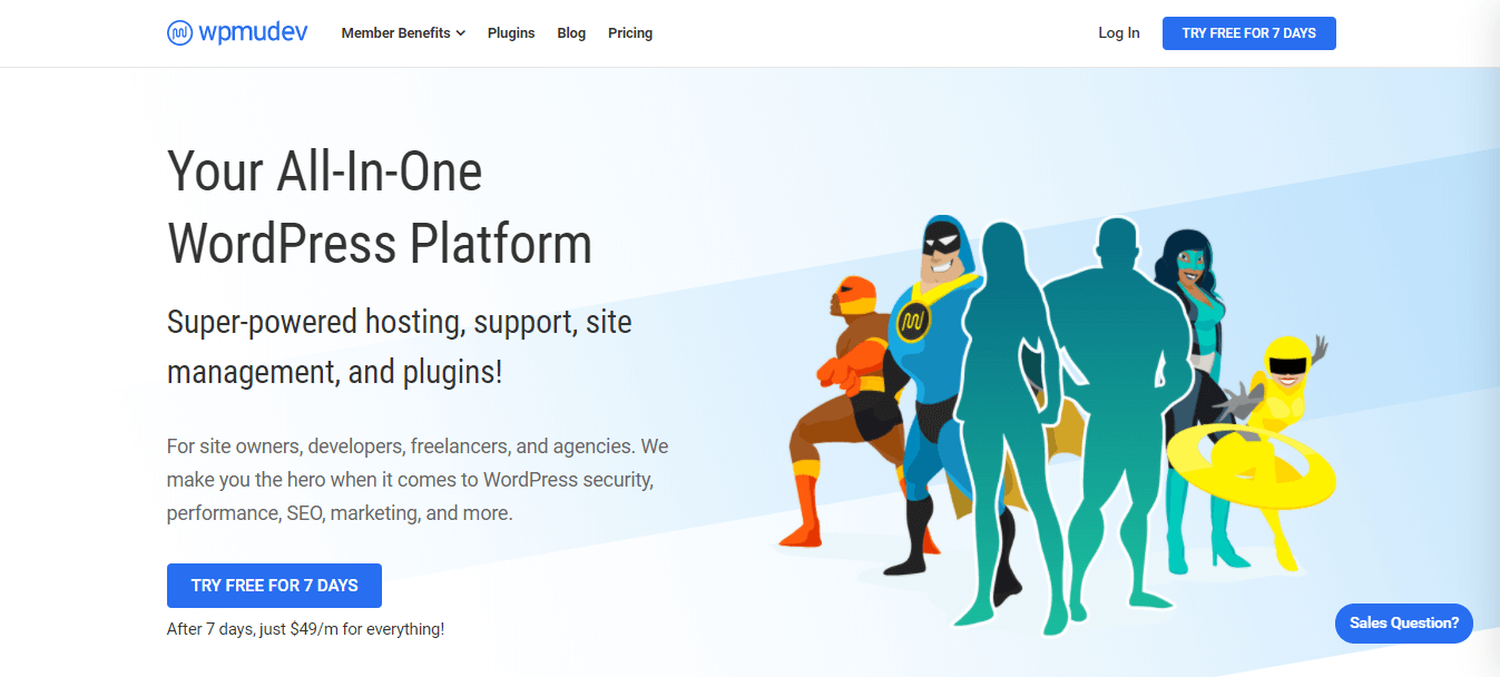 WPMU DEV a al round WordPress blog platform