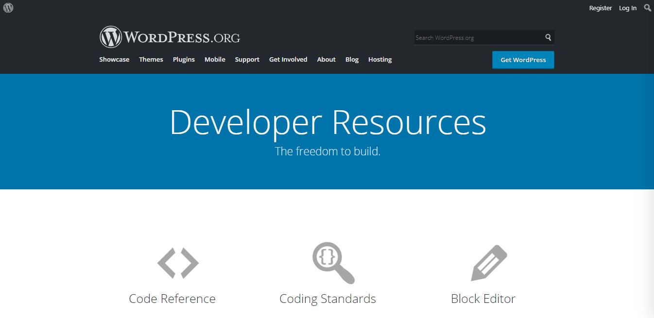 WordPress official developers blog