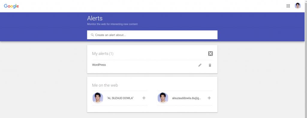 Social Media Brand Monitoring - Google Alerts