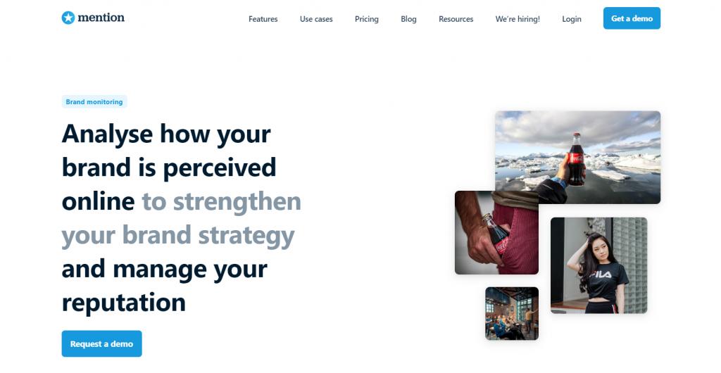 Social Media Brand Monitoring - Mention