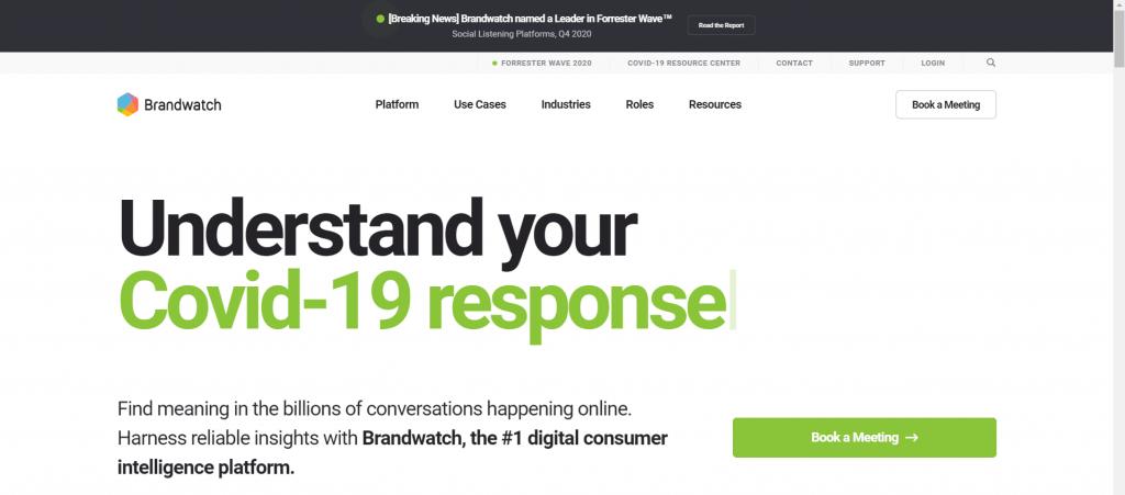 Social Media Brand Monitoring - Brand Watch Analytics