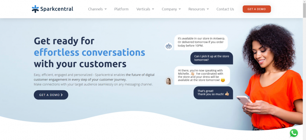 online media brand monitoring tools - Sparkcentral