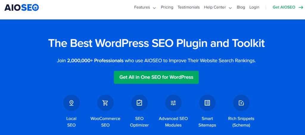AIOSEO- The Best SEO WordPress Plugins- 50% OFF