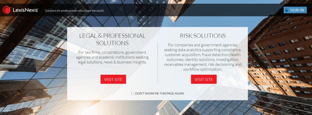 LexisNexis- Online Brand Monitoring tools