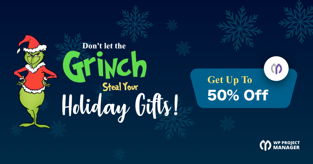 Best WordPress Christmas Deals: WP Project Manager