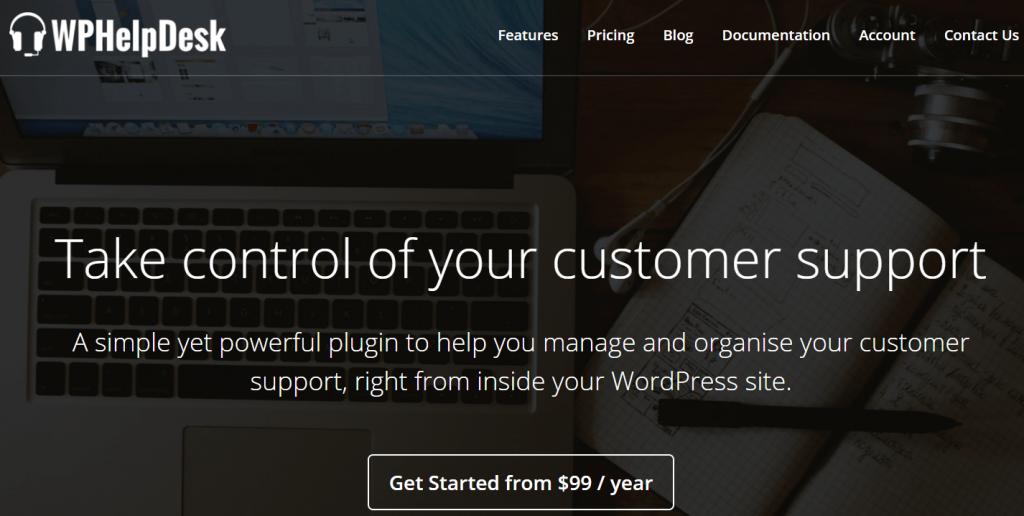 wordpress helpdesk plugin
