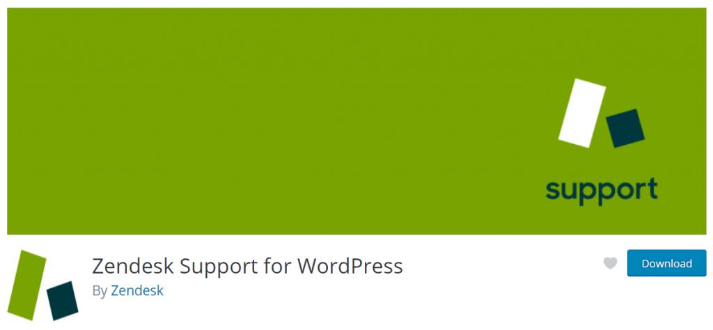 Zendesk- wordpress support system