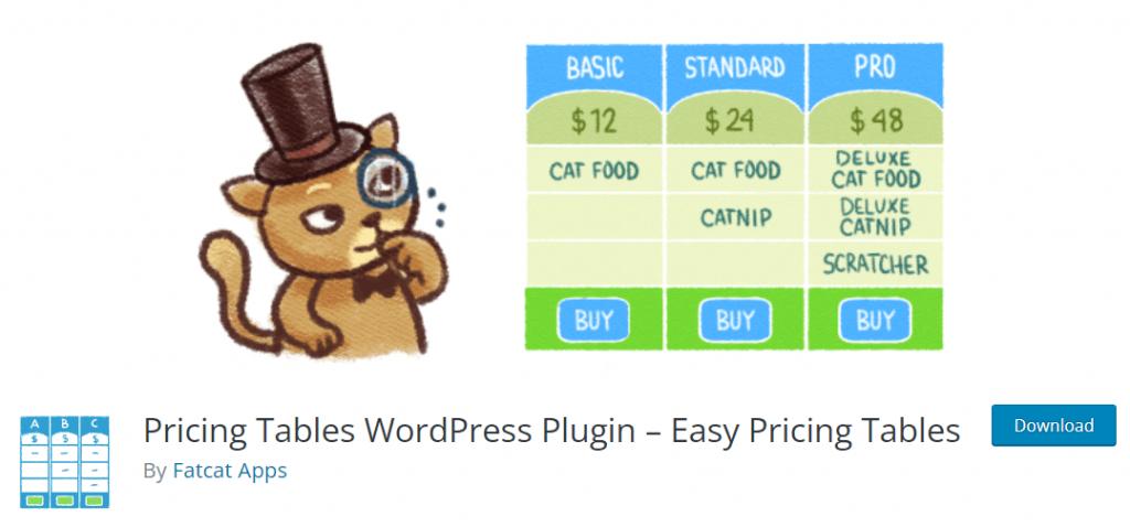Easy Pricing- WordPress Pricing Table Plugin