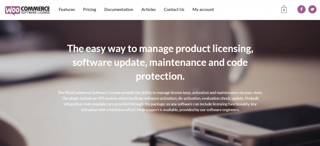 Woocommerce Software License Manager