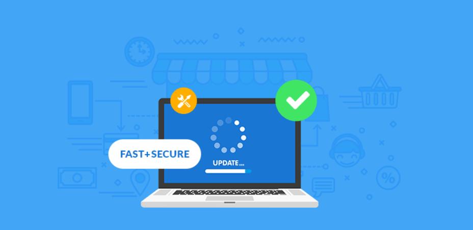 secure website building