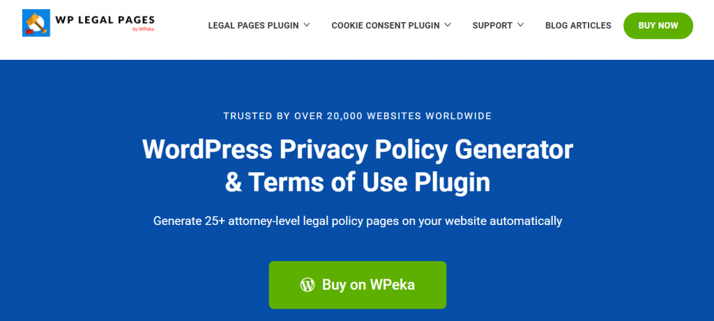 wp legal pages-WordPress refund policy plugin