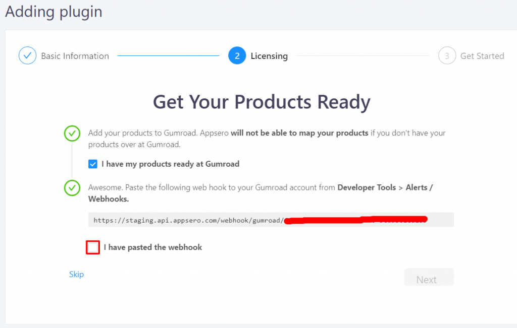 get your product ready