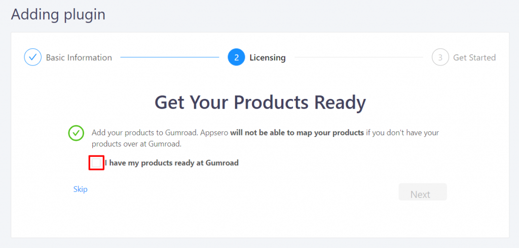 I have my products ready at Gumroad