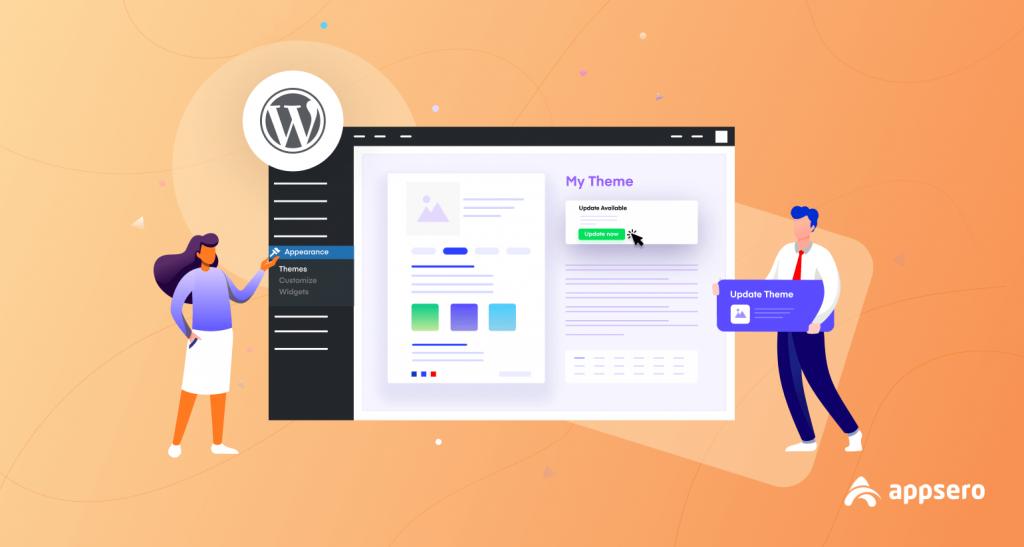 how to update WordPress Theme